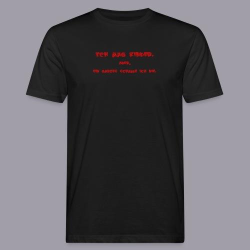 Ich mag Kinder - Männer Bio-T-Shirt
