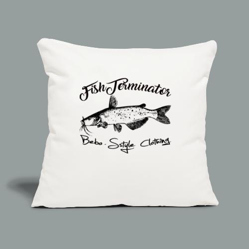 FishTerminator - Sofakissenbezug 44 x 44 cm