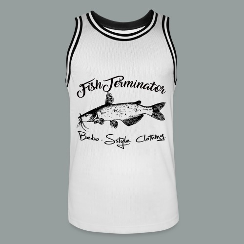 FishTerminator - Männer Basketball-Trikot
