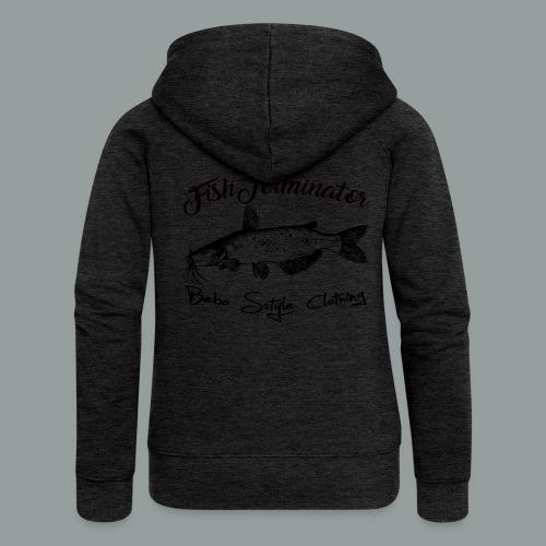 FishTerminator - Frauen Premium Kapuzenjacke