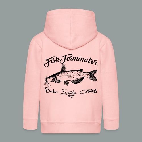 FishTerminator - Kinder Premium Kapuzenjacke