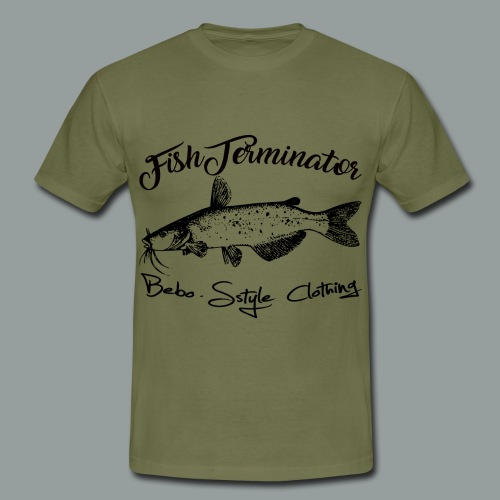 FishTerminator - Männer T-Shirt