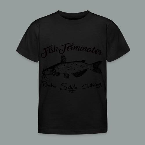 FishTerminator - Kinder T-Shirt