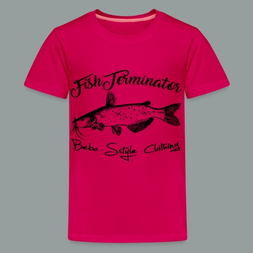 FishTerminator - Teenager Premium T-Shirt