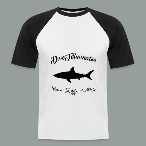 DiveTerminator - Männer Baseball-T-Shirt