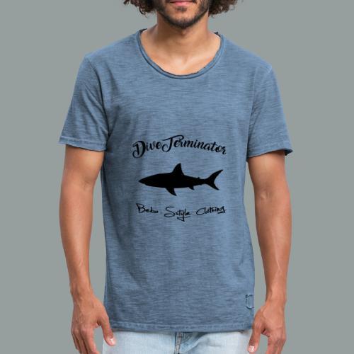 DiveTerminator - Männer Vintage T-Shirt