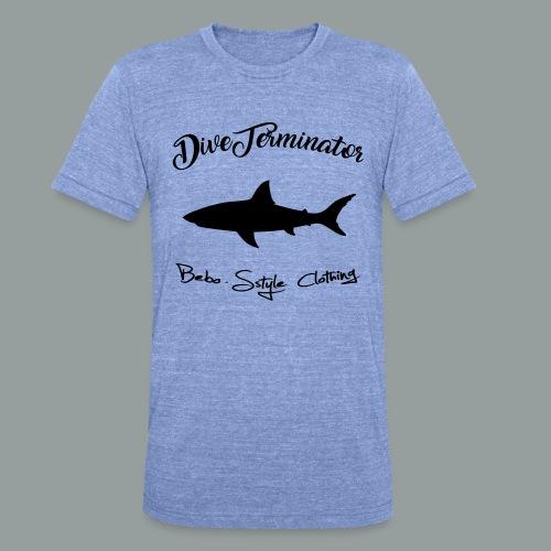 DiveTerminator - Unisex Tri-Blend T-Shirt von Bella + Canvas
