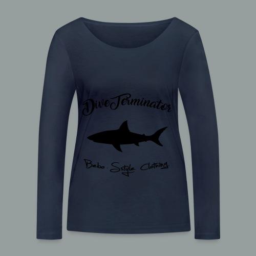 DiveTerminator - Frauen Bio-Langarmshirt von Stanley & Stella
