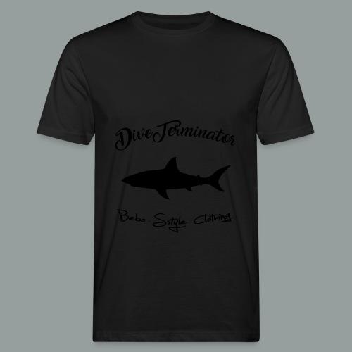 DiveTerminator - Männer Bio-T-Shirt
