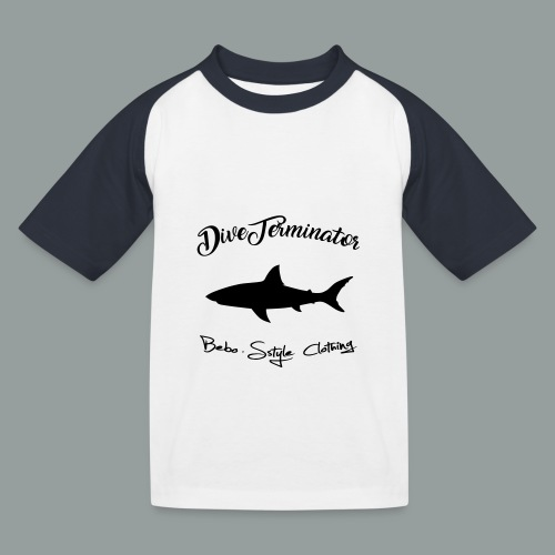 DiveTerminator - Kinder Baseball T-Shirt