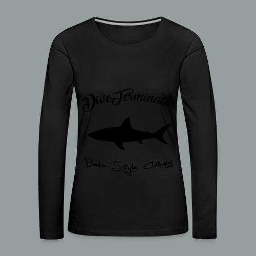 DiveTerminator - Frauen Premium Langarmshirt