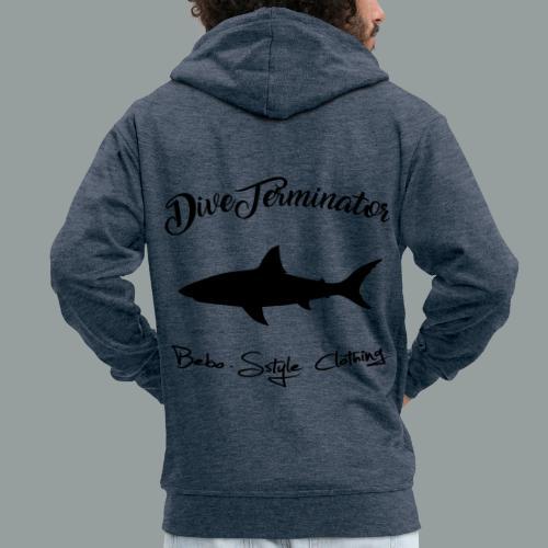 DiveTerminator - Männer Premium Kapuzenjacke