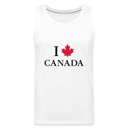 Kanada Ahorn Vancouver Montreal Toronto Maple Leaf - Men's Premium Tank Top