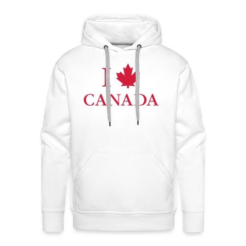 Kanada Ahorn Vancouver Montreal Toronto Maple Leaf - Men's Premium Hoodie