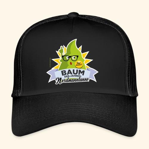 Geschenkidee: lustiges T-Shirt Nerdmanntanne - Trucker Cap