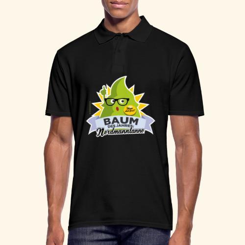 Geschenkidee: lustiges T-Shirt Nerdmanntanne - Männer Poloshirt