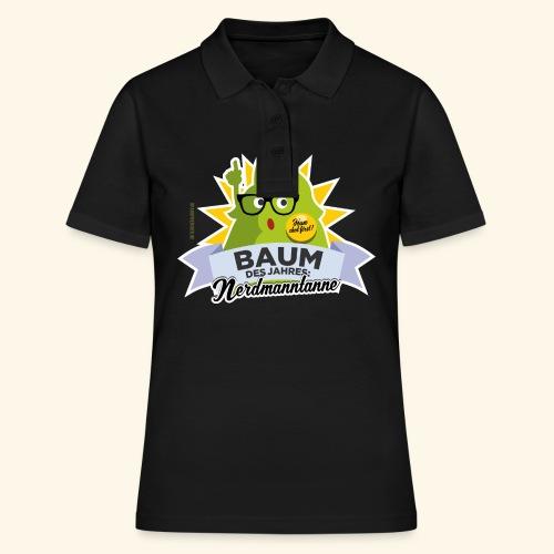 Geschenkidee: lustiges T-Shirt Nerdmanntanne - Frauen Polo Shirt
