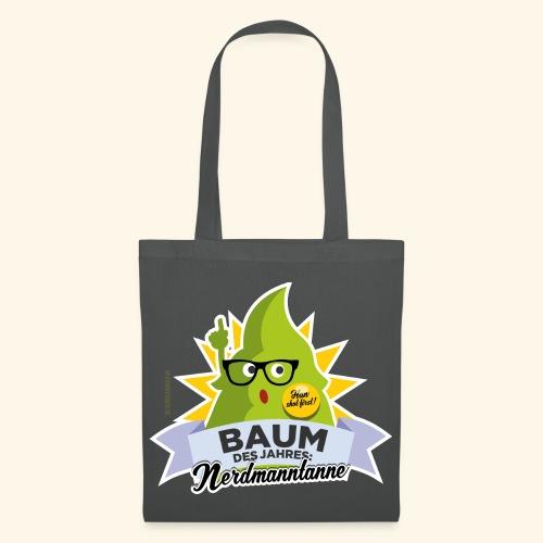 Geschenkidee: lustiges T-Shirt Nerdmanntanne - Stoffbeutel
