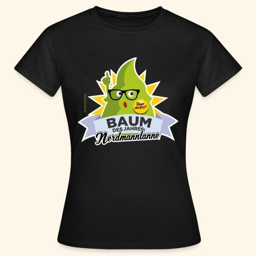 Geschenkidee: lustiges T-Shirt Nerdmanntanne - Frauen T-Shirt