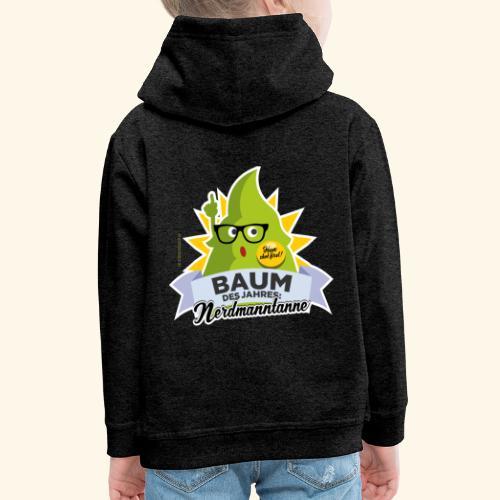 Geschenkidee: lustiges T-Shirt Nerdmanntanne - Kinder Premium Hoodie