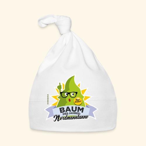 Geschenkidee: lustiges T-Shirt Nerdmanntanne - Baby Mütze