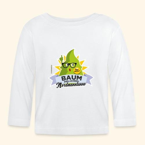 Geschenkidee: lustiges T-Shirt Nerdmanntanne - Baby Langarmshirt