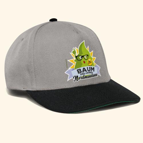 Geschenkidee: lustiges T-Shirt Nerdmanntanne - Snapback Cap