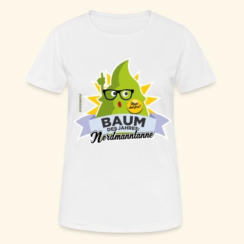 Geschenkidee: lustiges T-Shirt Nerdmanntanne - Frauen T-Shirt atmungsaktiv
