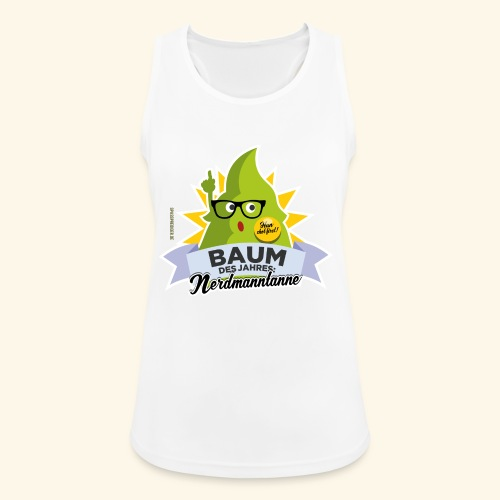 Geschenkidee: lustiges T-Shirt Nerdmanntanne - Frauen Tank Top atmungsaktiv