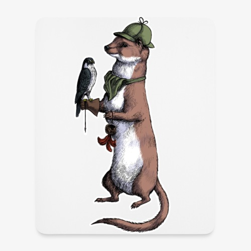 Weasel - Mouse Pad (vertical)