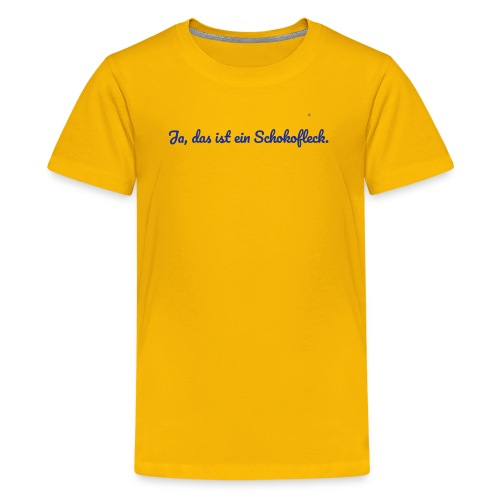 Schokofleck | Kinder - Teenager Premium T-Shirt