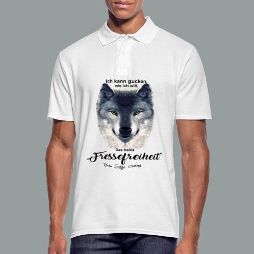 Fressefreiheit - Männer Poloshirt