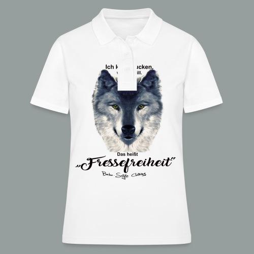 Fressefreiheit - Frauen Polo Shirt