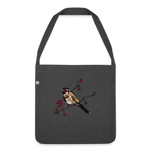 AutumnBird - Schultertasche aus Recycling-Material