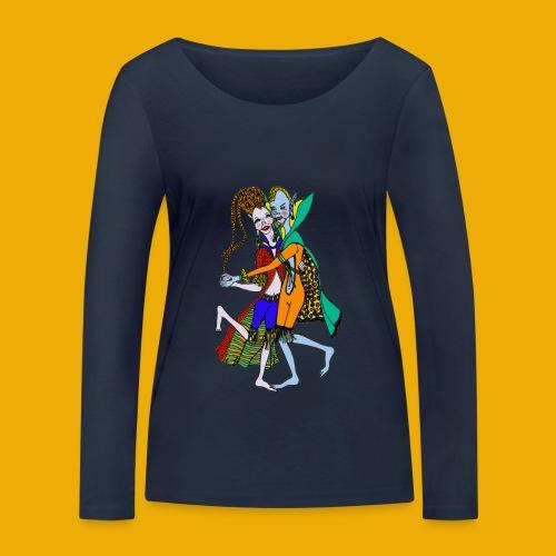 dansende elfen - Vrouwen bio shirt met lange mouwen van Stanley & Stella