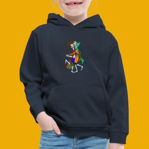 dansende elfen - Kinderen trui Premium met capuchon