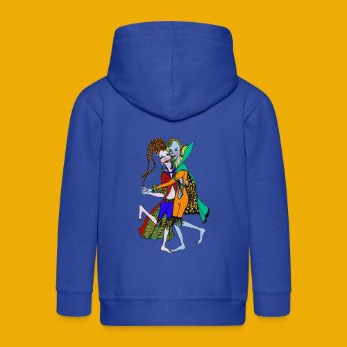 dansende elfen - Kinderen Premium jas met capuchon