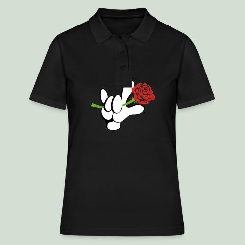 ILY mit Rose - Frauen Polo Shirt