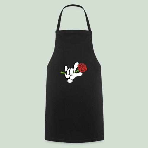 ILY mit Rose - Kochschürze