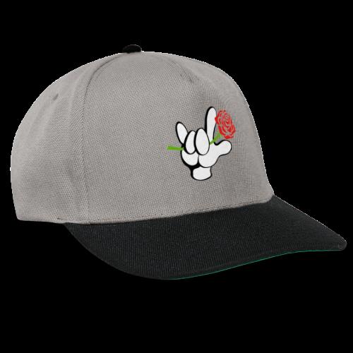 ILY mit Rose - Snapback Cap