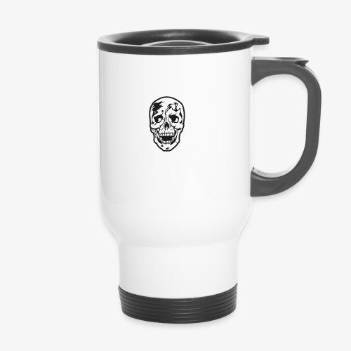 84 Skull Totenkopf Hamburg MEINE STADT Stadtteile - Thermobecher