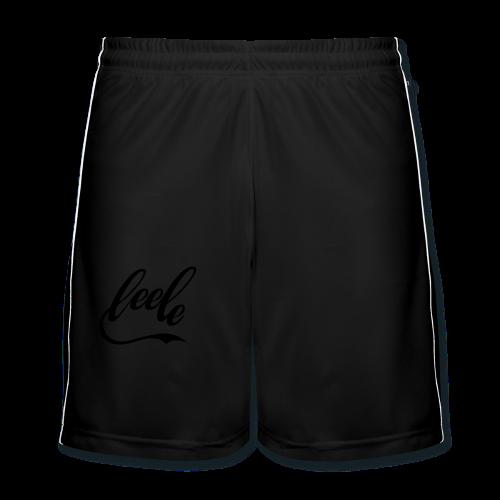 Leele in Cola-Style - Männer Fußball-Shorts