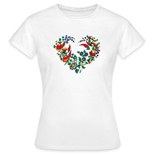 ungarische blumen  - Frauen T-Shirt