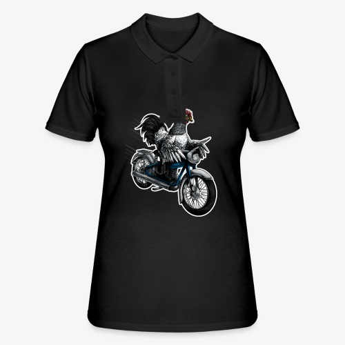 Bantam Biker - Women's Polo Shirt