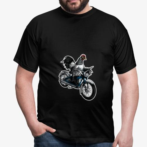 Bantam Biker - Men's T-Shirt