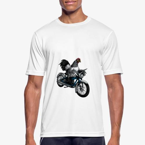 Bantam Biker - Men's Breathable T-Shirt