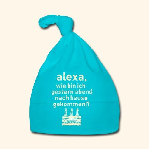 Sprüche T Shirt Alexa, Heimweg - Geschenkidee - Baby Mütze