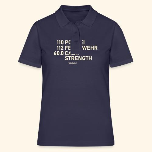 Whisky T Shirt Cask Strength Notfall - Geschenkidee - Frauen Polo Shirt