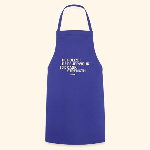 Whisky T Shirt Cask Strength Notfall - Geschenkidee - Kochschürze