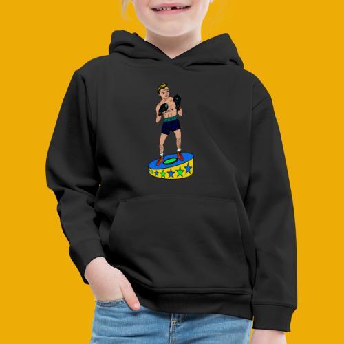 bokser t-shirt - Kinderen trui Premium met capuchon